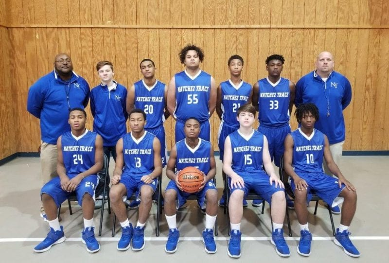 image of natchez trace basketball team